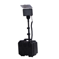 72W rechargeable led remote area lighting system, heavy duty industrial light, fire fighting light