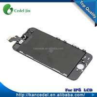 Best price mobile lcd for iphone 5 LCD for iphone 5 screen 4.0 inch lcd touch screen