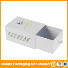 white wholesale box perfume packaging design ideas