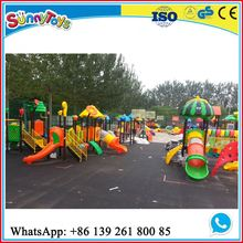 Outdoor high quality kids playground houses for toddlers ST.KS016