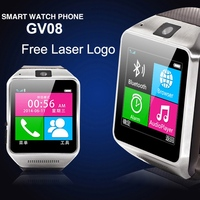 "1.54"" LED Screen Outdoor Sport Bluetooth android hand watch mobile phone"