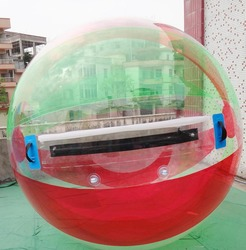 Floating giant inflatable water walking ball human sized hamster balloon