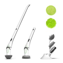 Spinning Tablet Window Washer Floor Scrubber Dryer Bbq Cleaning <strong>Brush</strong> Chenille Mop