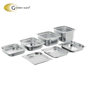 Golden ware Europe New Style Durable shelf stainless steel gn pan