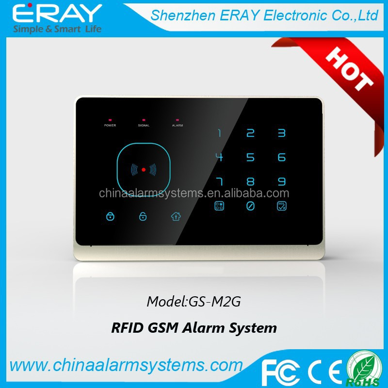 Android+IOS APP GSM RFID home alarm system &Wireless GSM Smart Home Alarm & Intelligent Home Security GSM Alarm System