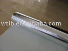Aluminum foil coated fiber glass fabric