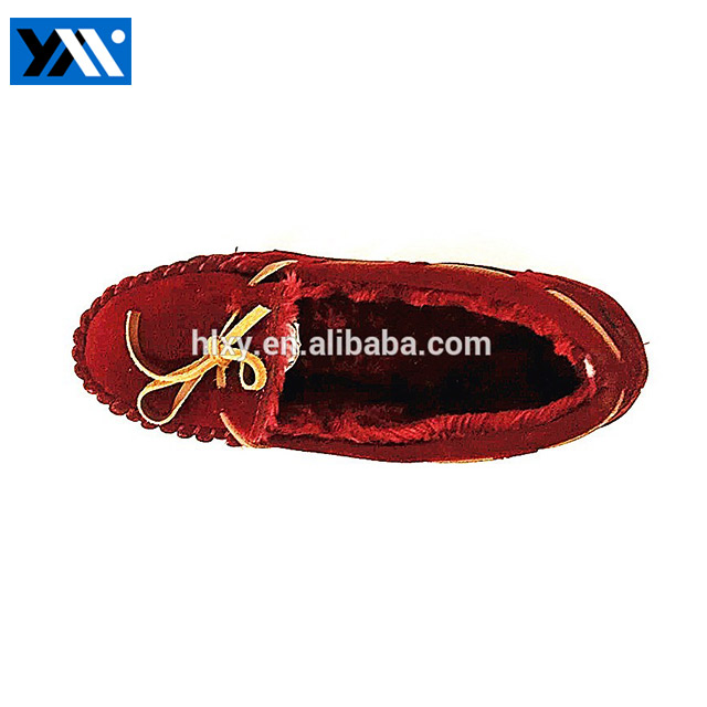 lady shoe manufacturer flat warm shoes winter shoes