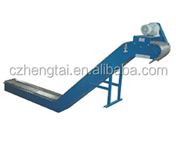 Scraped type chip conveyor