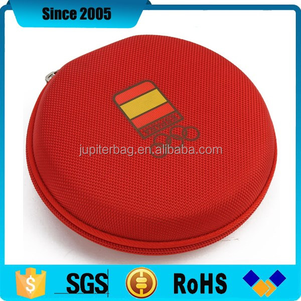 alibaba express round eva dvd cd music case wallet with sleeves