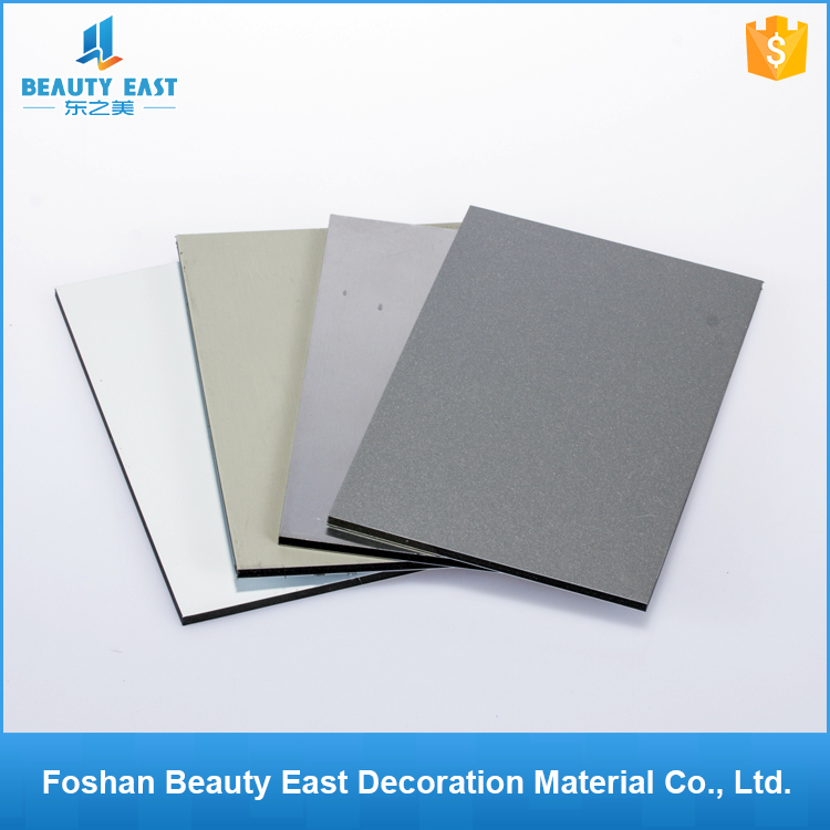 Foshan wall decoration acp <strong>scrap</strong> 4mmx0.2mm pvdf aluminum composite panels