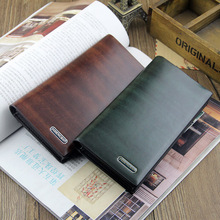 High Quality Business Casual PU Leather Wallet For Men