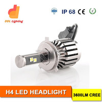 NEW Car LED Headlight Conversion kit H4 H7 H1H3 H11 9005 9006 led head light for motorcycle h4