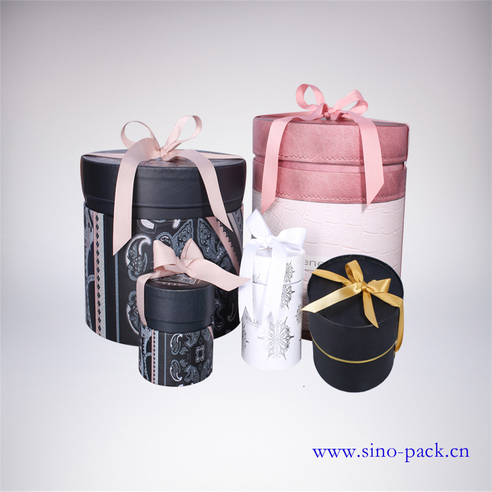 Nenette jewelry box customize made cylinder gift paper box