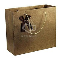 China supplier customized printing brown kraft paper bag whit kraft paper bag craft paper bag