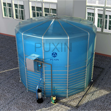 15m3 Portable Assembly Biogas System for Cow Dung Treatment