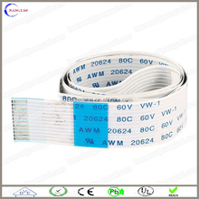 100mm 60PINS 0.3mm ffc cable assembly, 1.25mm pitch ffc cable assembly, 0.5mm pitch ffc cable assembly
