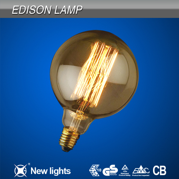 Hanging Antique Filament Edison Light Bulb G80 G95 G125 led globle bulbs/led filament light bulb e27