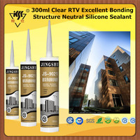 300ml Clear RTV Excellent Bonding Structure Neutral Silicone Sealant