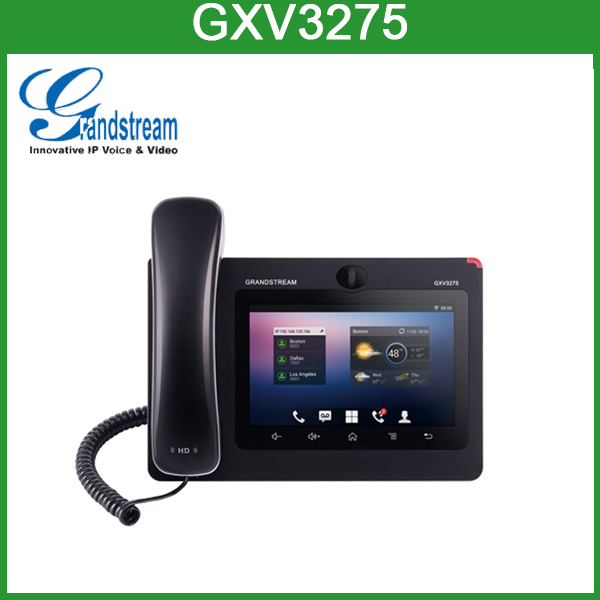 GXV3275 wireless skype video phone skype voip phone