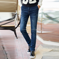 Sexy top 10 jeans brands men tight jeans wholesale skinny jeans in denim washing