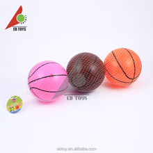 Outdoor toy kids play game 3 colors basketball diameter 14cm pvc toy ball