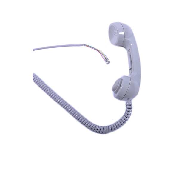 High vandalproof GSM Amored cable ABS plastic public telephone handset for mining seeking help intercom telephone A15