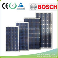 Best price and high efficiency 12v 3w to 330w monocrystal solar panel for sale