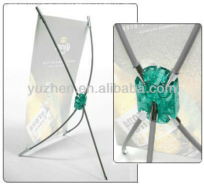Stylish mini X Banner, Desktop X Banner Stand, Cheap Mini Tabletop X Banner