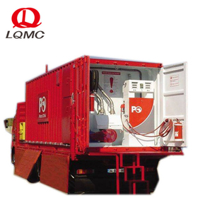 20 and 40 feet containerized petrol diesel fuel filling station