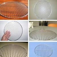 Easy and Great Use Galvanized Durable Portable Bbq Grill Wire Mesh