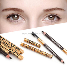 Natural Eyebrow eyeliner Pencil With Brush Cosmetic Tools