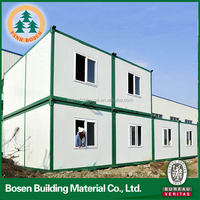 20ft assembled living container houses used for workers dormitory