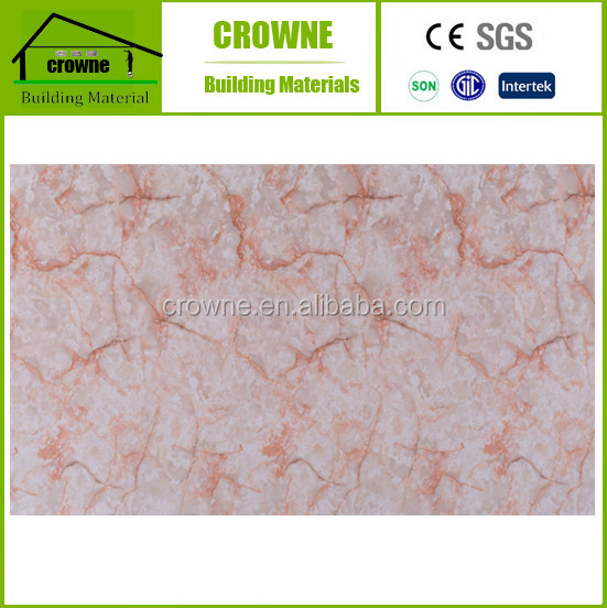 Building Insulation soundproof lowes bathroom wall board / sheet uv coating