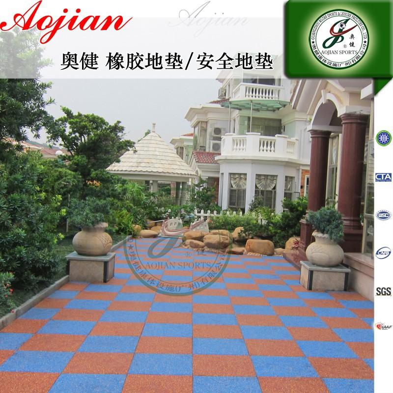 Pavimento in gomma per la sicurezza a terra per esterni - Pavimento in gomma per esterni ...