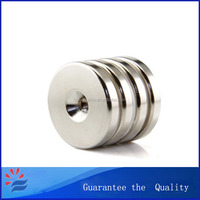 Rare Earth Strong Neodymium Magnets with Hole for Motor