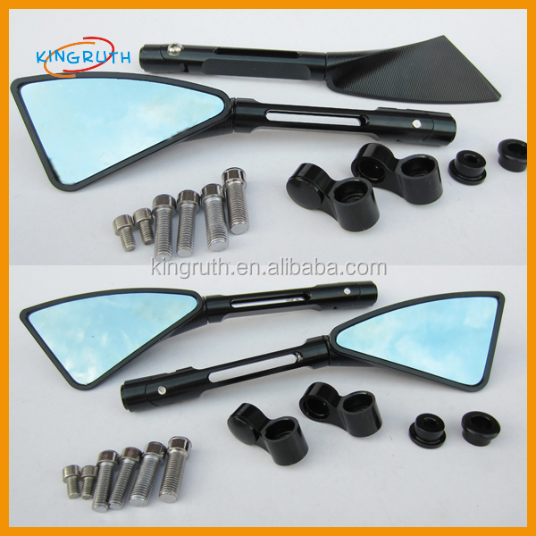 High quality scooter motorcycle 100% Billet Aluminum CNC side rear mirror