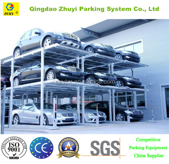 Three Layers Automatic Smart Car Parking Equipment Parking System
