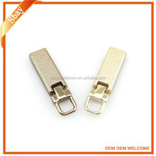 Fashion decorative zip pullers/Custom metal zipper pulls