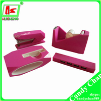 scotch tape dispenser, stationery set punch stapler tape dispenser