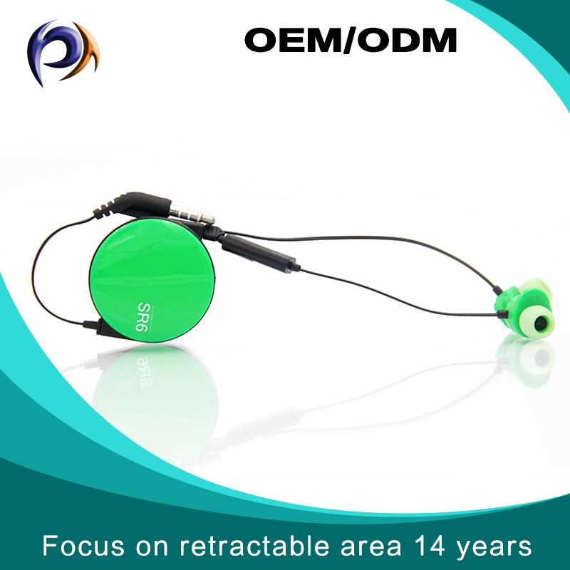 Clear Quality Retractable Music In-ear Noise Isolating SR6 headphone mic in all electronics