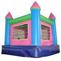 inflatable bouncer pink castle jumper bouncy jumping