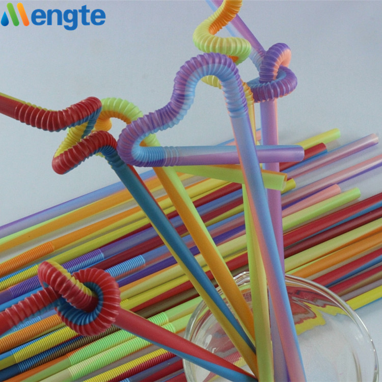 colorful straw pp plastic straw for drtinking