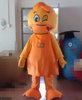 make Cosplay mascot Costume duck costume with a flat beak