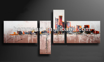 hand-painted wall arth ome decoration abstract oil painting on canvas Q20121209