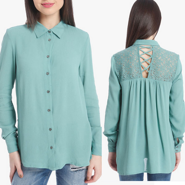 2016 Womens clothing apparel imported from china shirt blouse