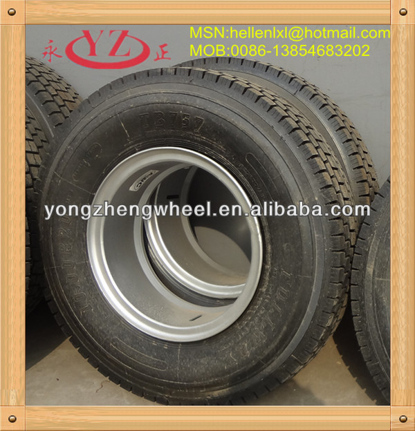 8.5-20 wheel rims for 12.00-20 truck tyres