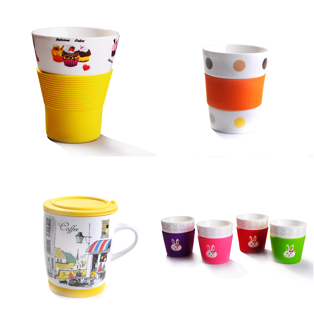 wholesale sublimation ceramic drinking mug cup for supermarket&promotion