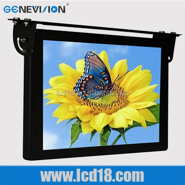 "15"" Roof Fixing TFT Bus LCD Digital Signage /Media Players,LCD Advertising Display"
