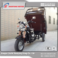 Air cooled strong power best three wheel cargo trike motorbike