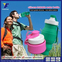 New Design Cycling Reusable Silicone Water Bottle Band